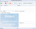Puma Video To MOV Converter