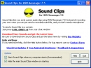 Sound Clips for MSN Messenger