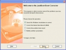 JustBoot Boot Corrector