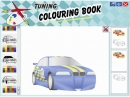 Tuning colouring book