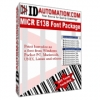 IDAutomation MICR E13B Font Advantage