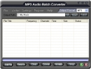 ! MP3 Audio Batch Converter