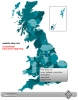 Interactive UK Flash Map