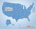 Flash Map US States Silver (with FLA source)
