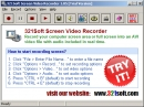 Programa grabador de video en pantalla 321. (321Soft Screen Video Recorder)