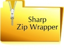 Sharp Zip Wrapper