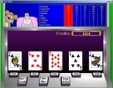 Casino Game Critters - Video Poker