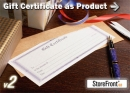 Gift Certificate Add-On for StoreFront