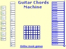 Guitar chords machine online