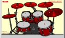 Drum online player