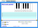 Juego de piano, guitarra y bateria (Piano, guitar and drums game)
