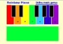 Rainbow piano for kids