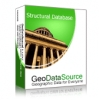 GeoDataSource World Structural Features Database (Basic Edition)