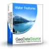GeoDataSource World Water Features Database (Premium Edition)
