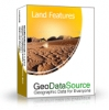 GeoDataSource World Land Features Database (Gold Edition)