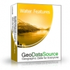 GeoDataSource World Water Features Database (Gold Edition)