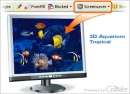Salvapantallas acuario tropical 3D Crawler (Crawler 3D Tropical Aquarium Screensaver)