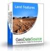 GeoDataSource World Land Features Database (Premium Edition)