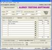 Alergy Testing Software