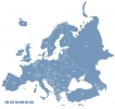 Europe Map Locator