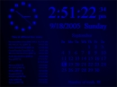 FD InfoClock Screensaver