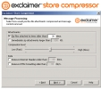 Exclaimer Store Compressor