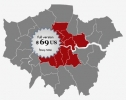 Locator Map of the London Boroughs