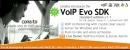 VoIP SDK with DLL, OCX/ActiveX, COM, C-interface and .NET for Windows and Linux