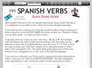 101 Spanish Verbs Quick Study Guide