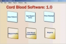 Cord Blood Software