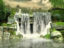 Mayan Waterfall 3D Screensaver