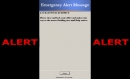 Blaser Emergency Alert Messaging System