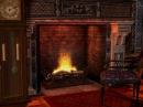 Gothic Fireplace - Animated Wallpaper