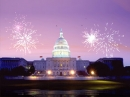 Fireworks on Capitol