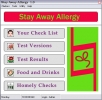 Software mant�nganse alejadas alergias (Stay Away Alergies Software)