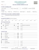 Pelvis & Lower Extremity Exam Form - Sample