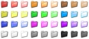 Folder Color Icon Set
