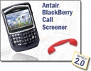 Antair BlackBerry Call Screener