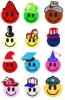 Free Smiley Face Hats Embroidery Designs