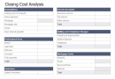 Real Estate Marketing Closing Cost Calc