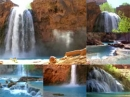Indian Waterfall Video Screensaver