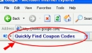 Coupon Codes Toolbar