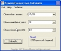 Browse4Houses Loan Calculator