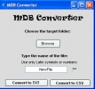 MDB Converter