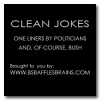 Clean Jokes-Bushisms