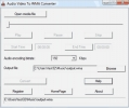 Convertidor de Audio y V�deo a WMA (Audio Video To WMA Converter)