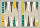 Online backgammon game