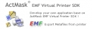 ActMask EMF Virtual Printer Driver