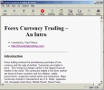Forex Currency Trading ? An Intro