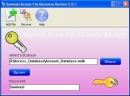 Access password recovery key